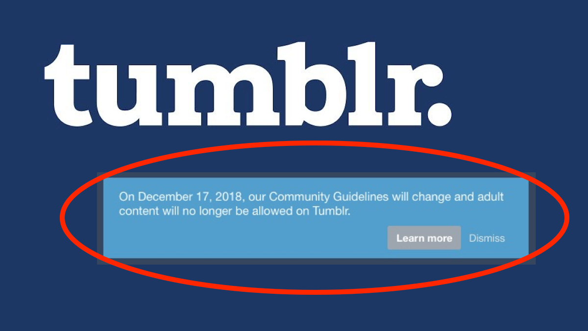 New Porn Tumblr the bbc is worried that tumblr's new ban will cause a porn